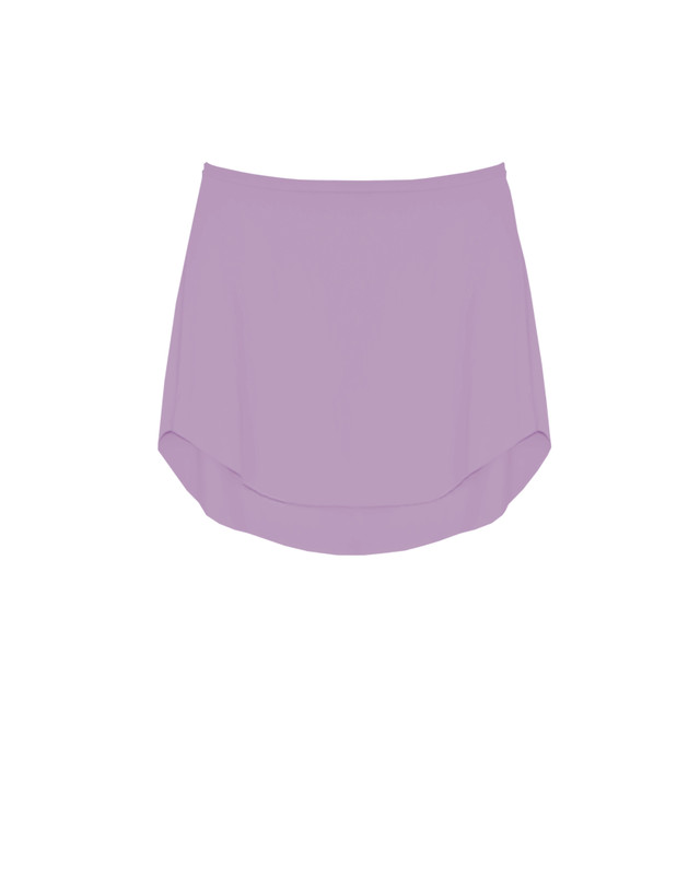 Tulip Skirt Kids Deep Orchid