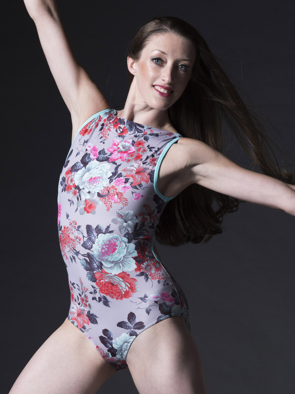 Louise Leotard with Moon Collar