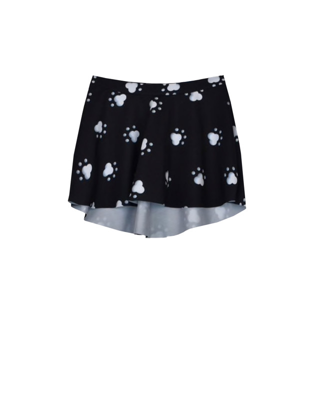 Flare Skirt Kids Dog Paws