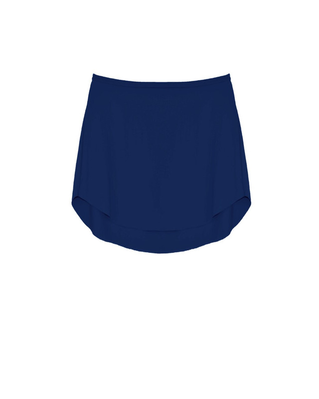 Tulip Skirt Kids Navy Matte