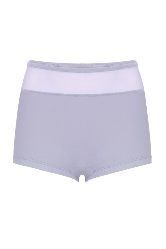 High Waisted Georgia Shorts Kids Lavender