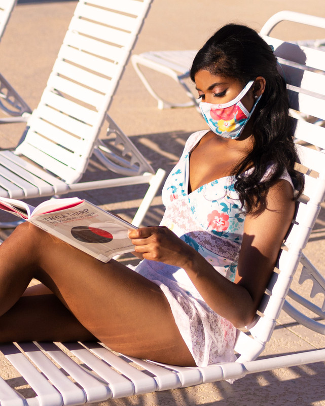 Heatwave Printed Face Mask RTW