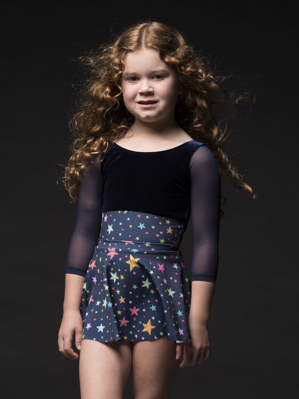 Flare Skirt Kids Seeing Stars RTW