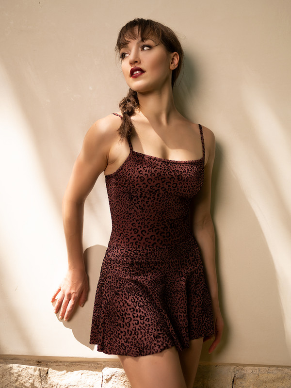 Aisling Flocked Cheetah RTW