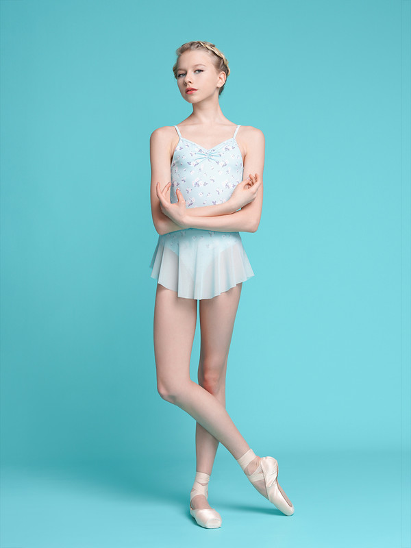 Nolte Chamomile paired with Hipster Skirt Powder Blue RTW