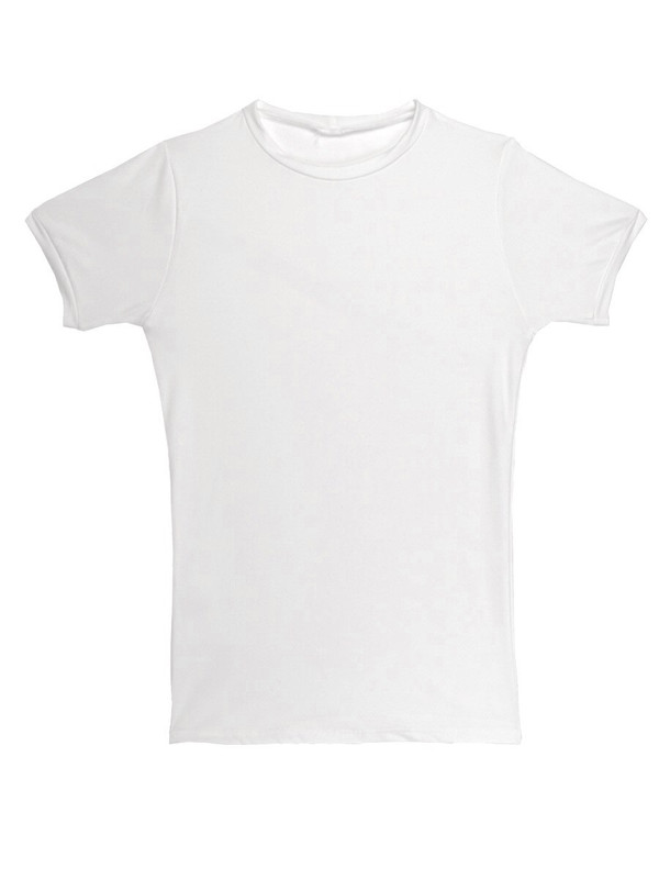 Gabe Shirt in White Matte