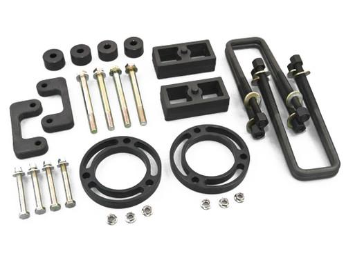 "Nylon EZ Lift Front 3.5"" Rear 3"" GMC Sierra Chevy Silverado 14-16 4WD"