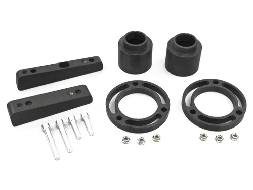 """Nylon EZ Lift Front 2-3.5"""" Rear 1-3"""" +Differential Drop Cadillac Chevy GMC SUV 1500 07-16 4WD"""