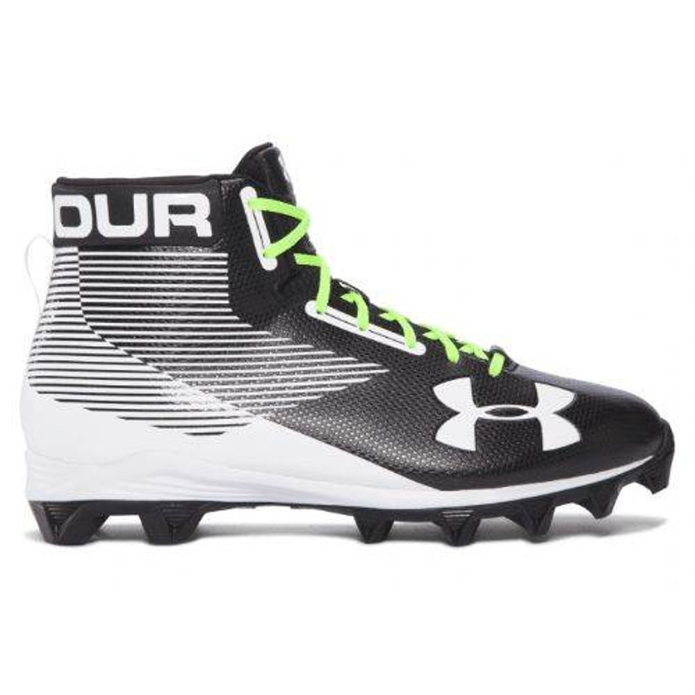 051b70360 Under Armour Hammer Mid RM Youth Football Cleats - The Sports Exchange