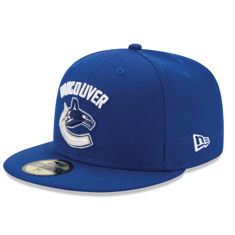Vancouver Canucks New Era 59FIFTY Fitted Hat - The Sports Exchange 2e6baed060a6