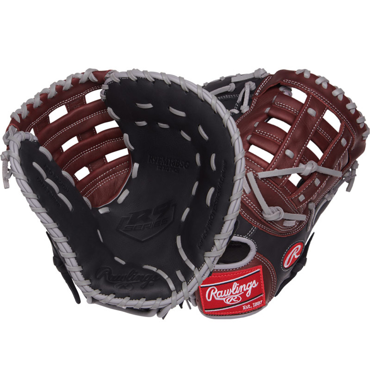 Rawlings R9 Youth Baseball Glove Series Right Hand Throw First Base Mitt