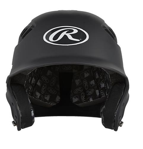 Rawlings CFABHN Matte Black Batting Helmet