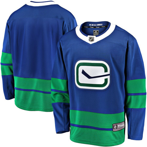 2019/20 Fanatics Breakaway Canucks Alternate Adult Jersey
