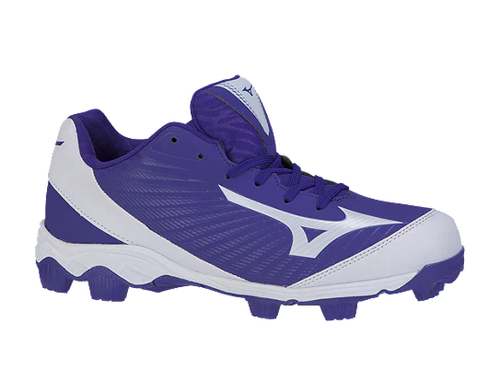 Mizuno 9-spike Franchise 9 Royal & Red Molded Cleats - Sr.