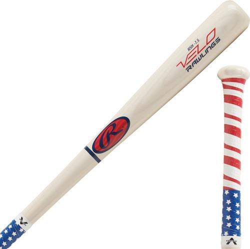 Rawlings Velo Youth Y62AV Ash Wood Bat (-7.5oz)