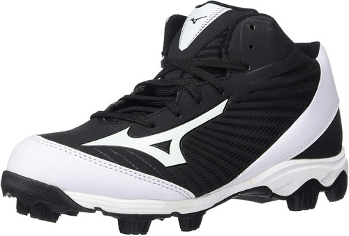 Mizuno 9-spike Franchise 9 Mid Molded Cleats - Jr.