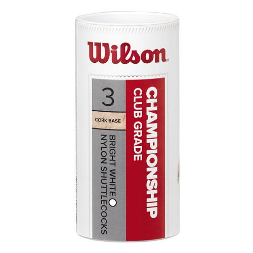 Wilson Championship Shuttlecocks - 3 pack