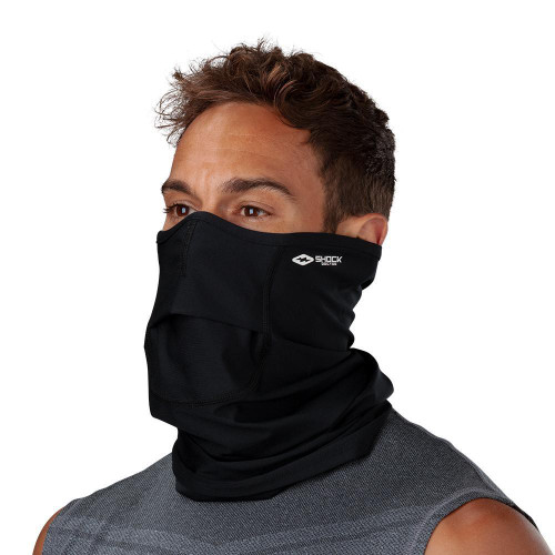 Black Face Gaiter