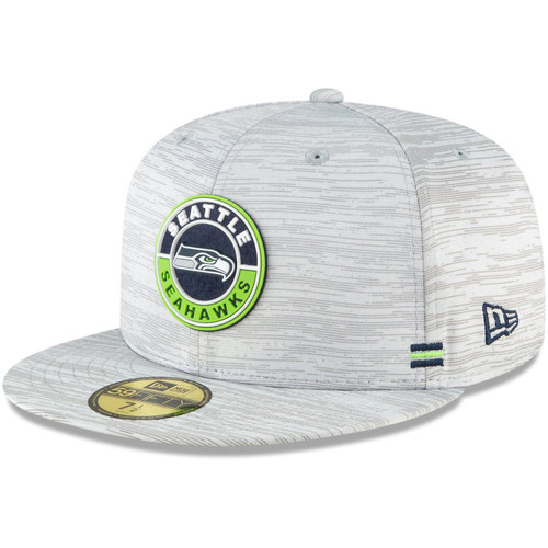 New Era 59Fifty Fitted Cap - SIDELINE 2020 Seattle Seahawks