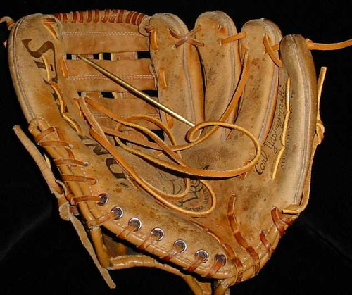 Baseball Glove Re-Lacing