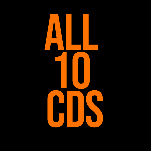 Full CD Catalog - 10 Cd's (FREE SHIPPING!)
