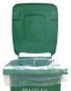 140 Litre High Quality Recycled Clear Bin Liners - 120 Gauge