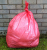 "Red Refuse Sack 18x29x39"" 15kg 160g"