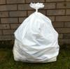 """White Refuse Sack 18x29x39"""" 20kg 160g"""