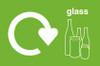 Set of Three Large Recycling Bins
