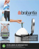 Brabantia Size G SmartFix Perfect Fit Bin Liners 23 to 30 Litre 40 Bags Dispenser Pack
