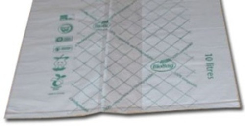 Biodegradable/Compostable 10 Litre Corn Starch  Bin Liners