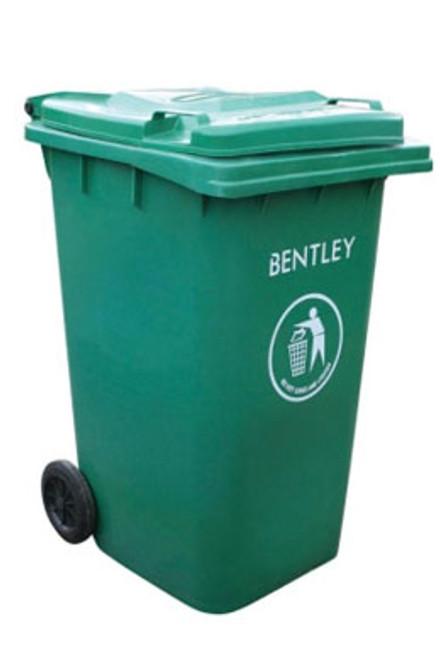 Large Wheelie Bin in Green - 240 Litres