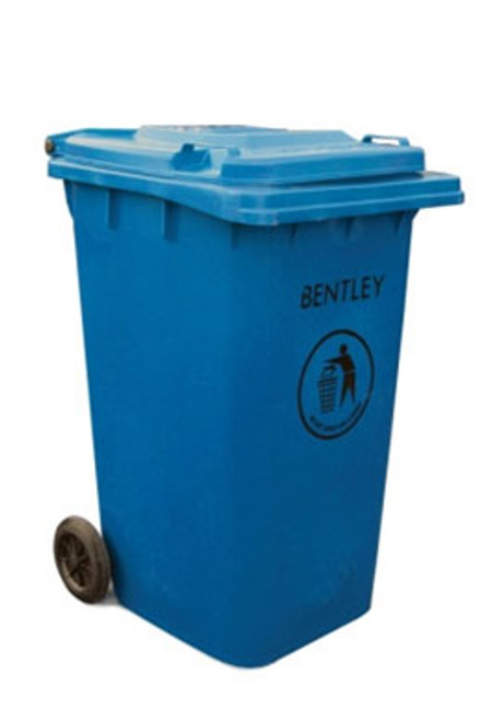 Large Wheelie Bin in Blue - 240 Litres