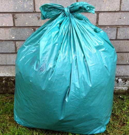 "Green Refuse Sack 18x29x39"" 15kg 160g"
