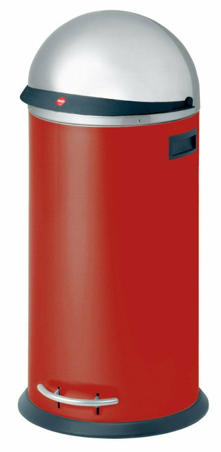 KickVisier® Red 50 Spacious waste box with pedal mechanism