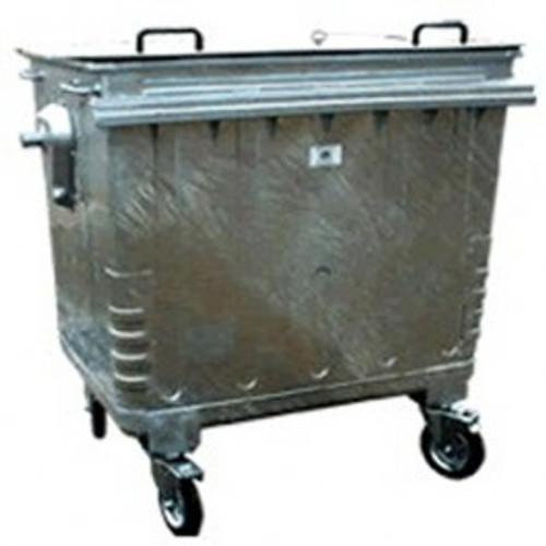 Galvanised Waste Bin - 450kg Max Load