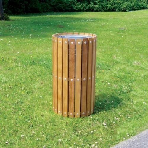 WTS/2 Circular Slatted Top Litter Bin