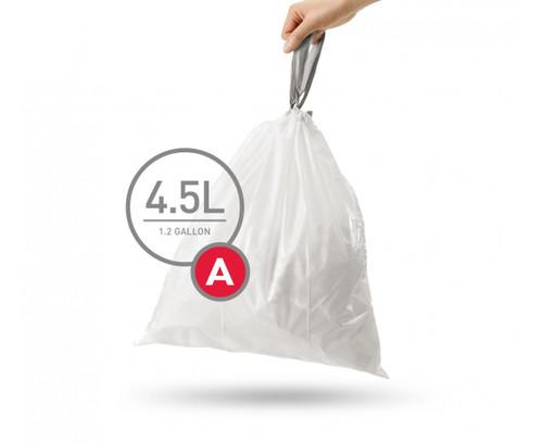 simplehuman bin liner code A