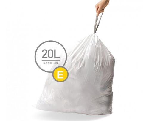 simplehuman bin liner code E