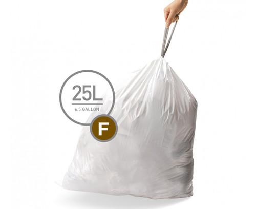 simplehuman bin liner code F