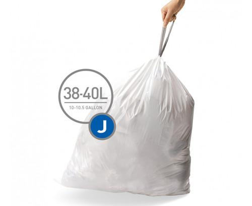 simplehuman bin liner code J