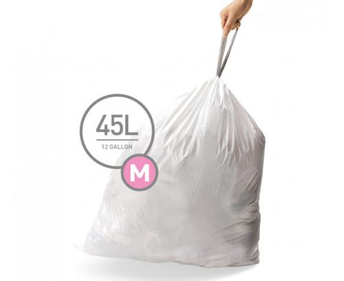simplehuman bin liner code M