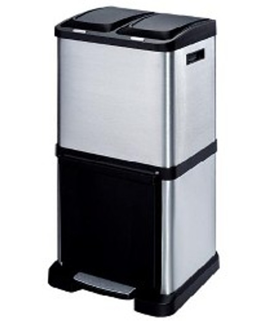 Trio Recycling Bin 40 Litre Tower Recycler