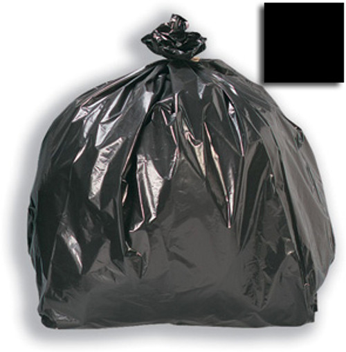 "Black Refuse Sack 18x29x39"" 15kg 120g"