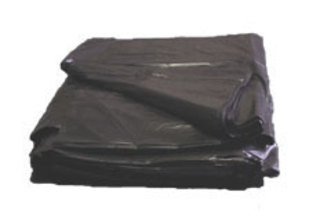 An image of Value Waste Black Bin Liner for Office & Hotels
