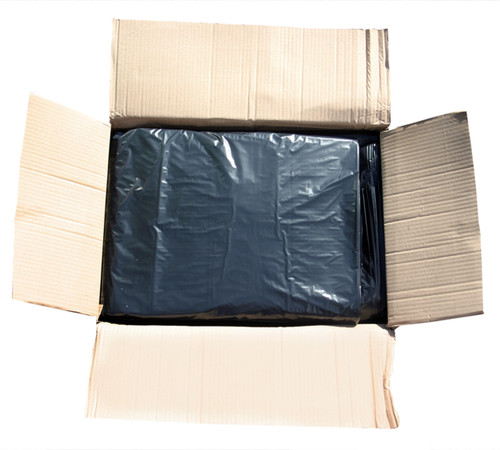 "An image of Black Refuse Sack, 18x29x39"", 15kg, 140g"