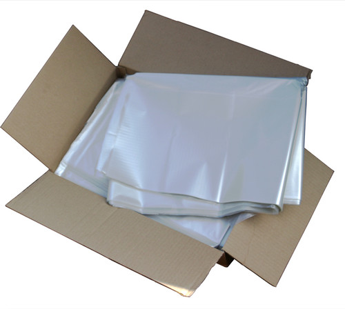 "An image of Clear Refuse Sack 18x29x39"" 15kg 160g"