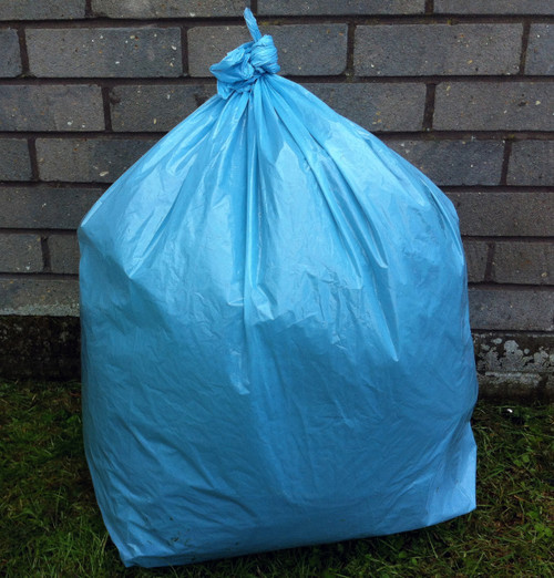 """An image of Blue Refuse Sack 18x29x39"""" 15kg 160g"""