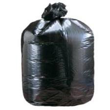 """An image of Black Compactor Sack 22x33x47"""" 20kg 230g"""