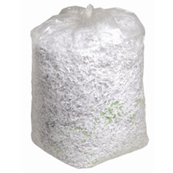 """An image of Clear Compactor Sack 20x38x46"""" 20kg 220g"""